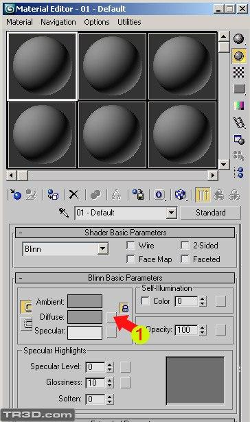 material editor 3dsmax