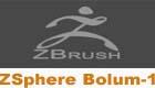 ZBrush ,ZSphere modelleme Bölüm-1