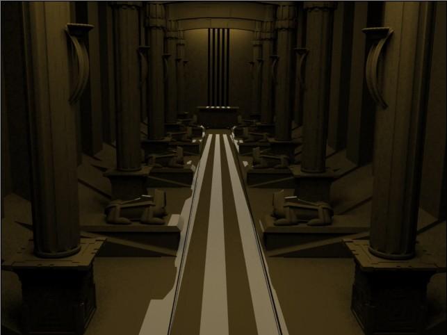 3.Piramit Mezar odası son bölüm
