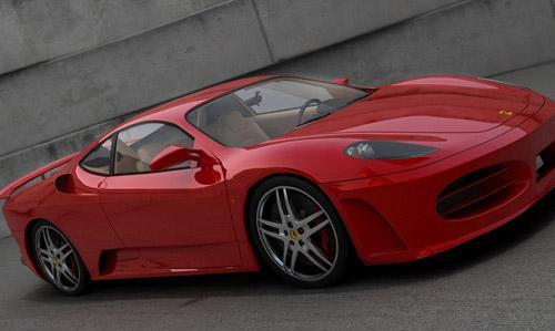 3D- 3 Boyutlu araba modeli