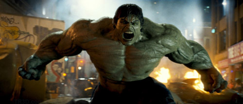 the incredible hulk, boddypaint ile boyandı