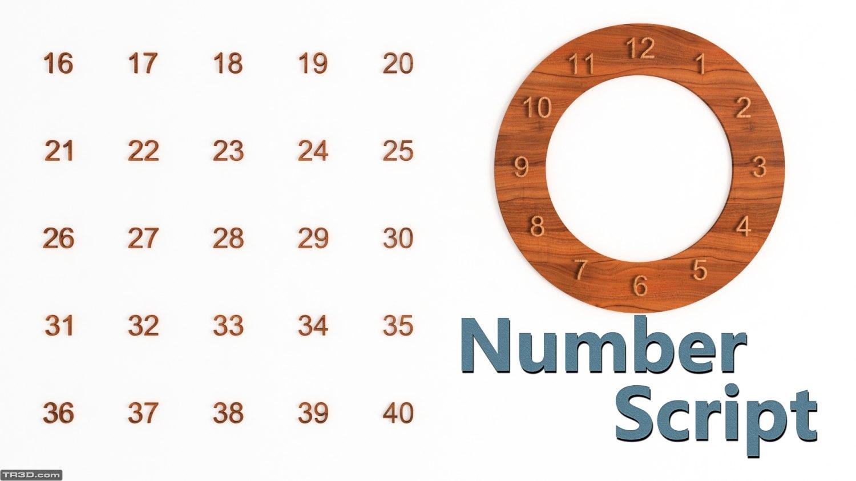Number Script