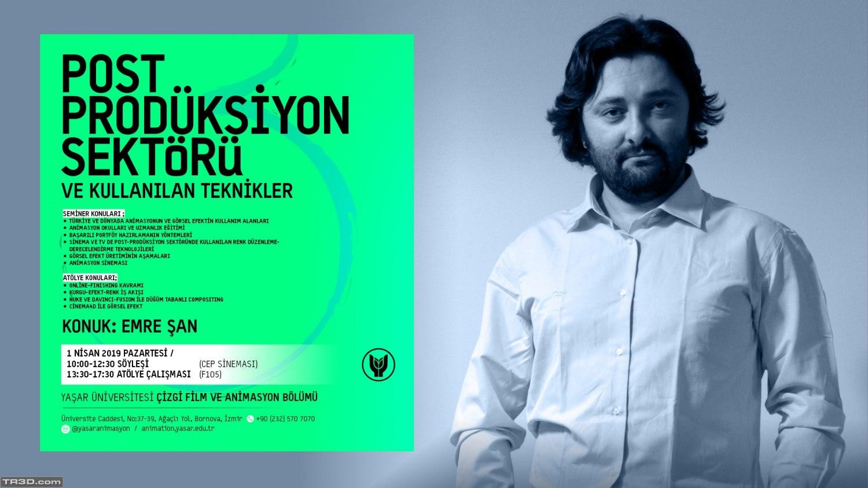 İzmir'de Post-Prodüksiyon konulu seminer