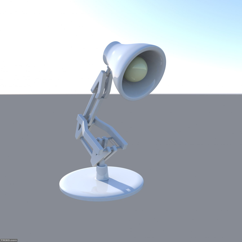 Luxo Jr. (Pixar Lambası) çalışmam