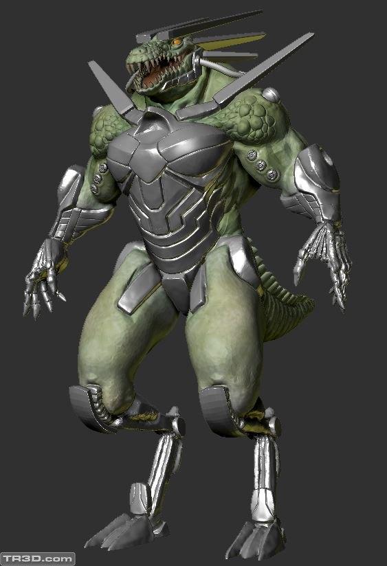 Cyborg Timsah