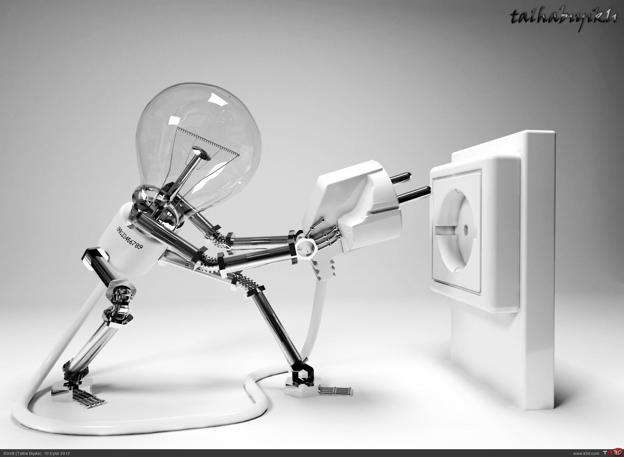 Ampul Robot