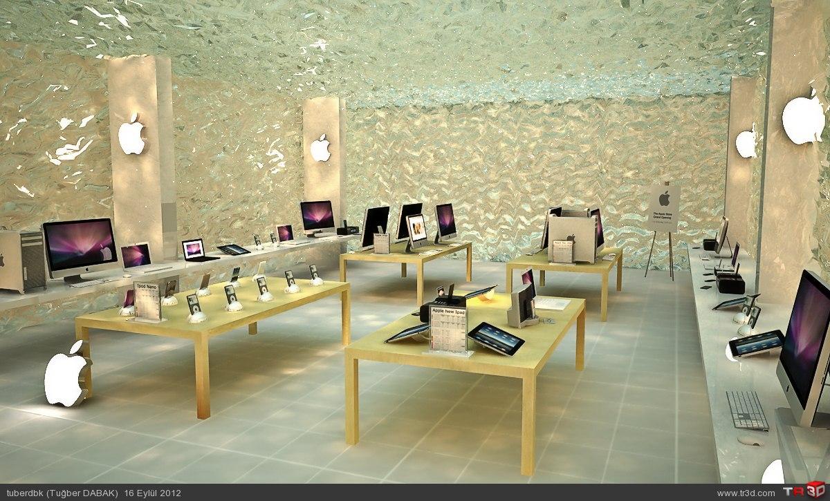 Apple Store Farklı Konsept