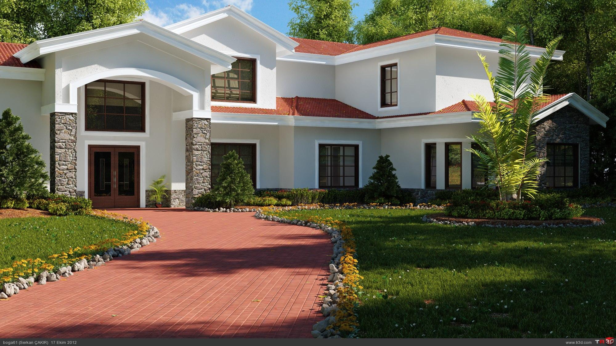 villa peyzaj