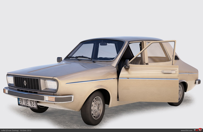 Renault 12 model