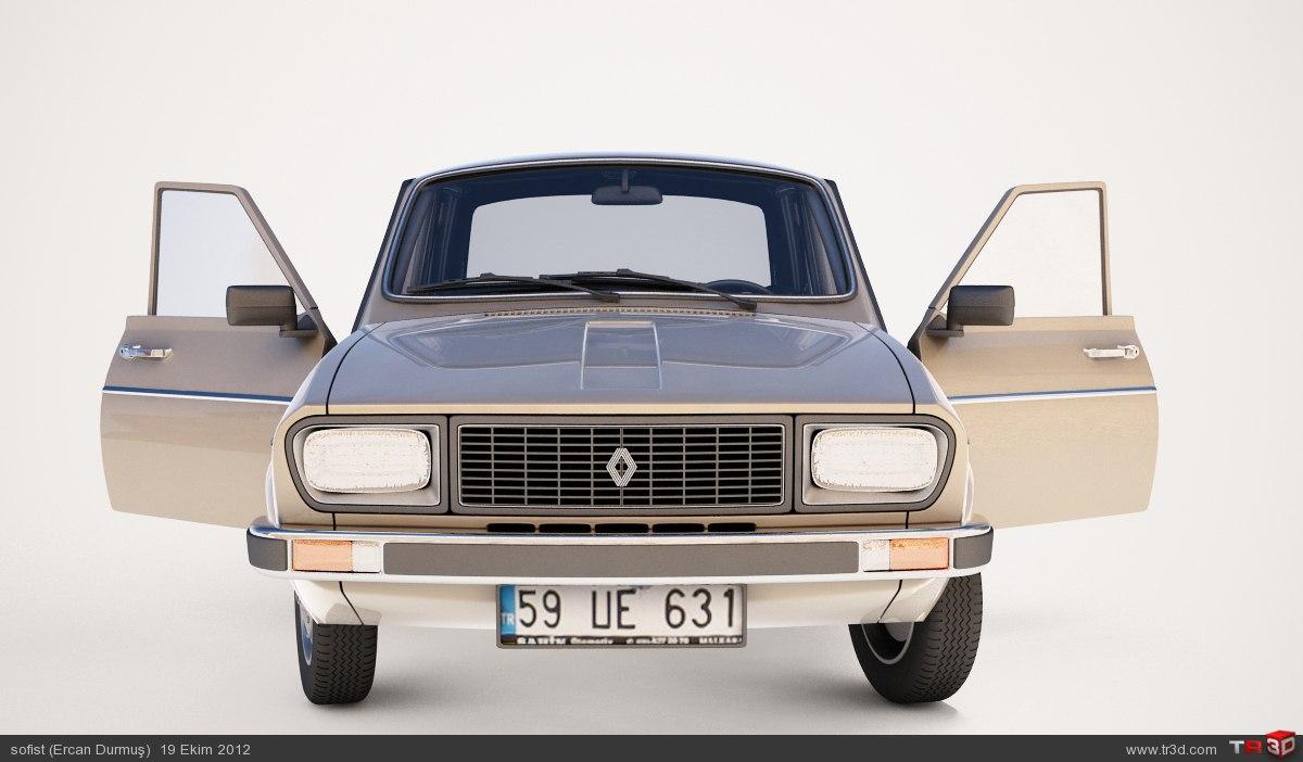 Renault 12 model 2