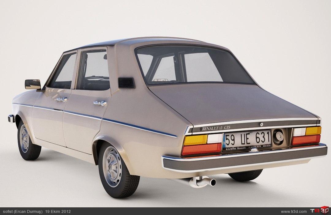 Renault 12 model 3