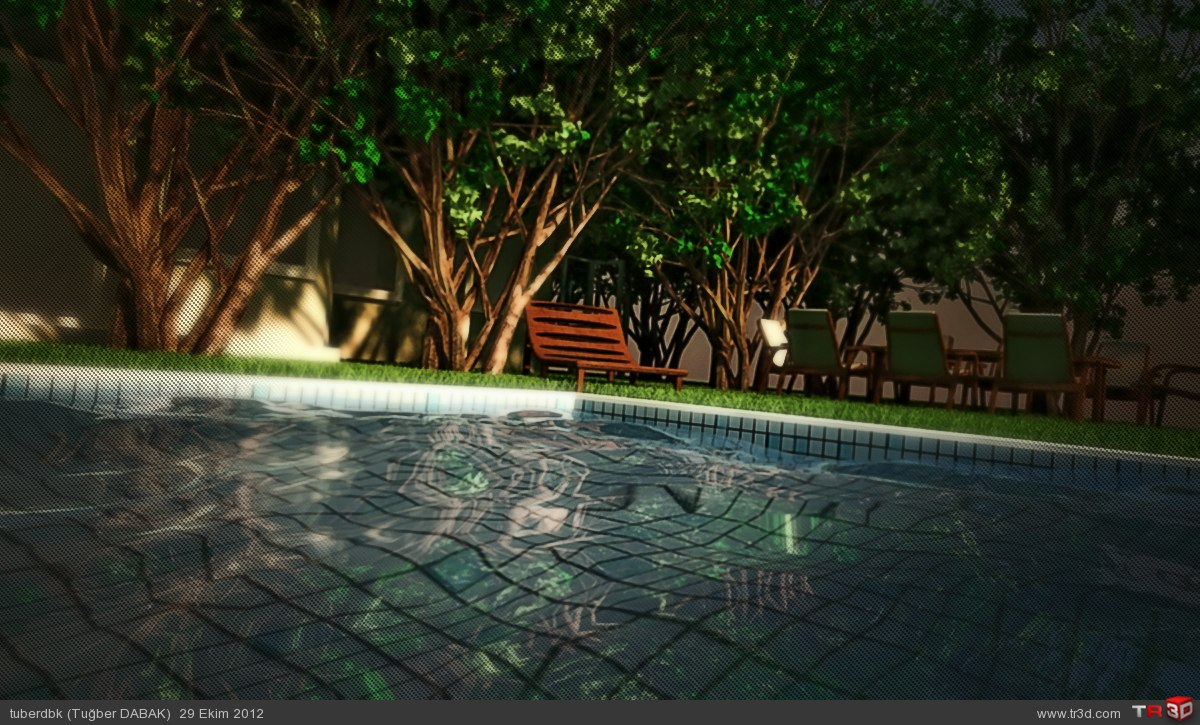 Bahçe ve Havuz