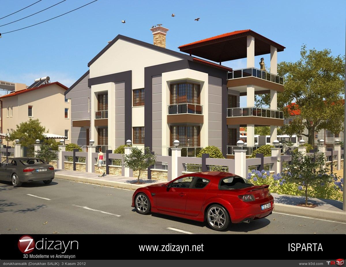 Z Dizayn 3d Modelleme Ve Animasyon Mimari Projeler
