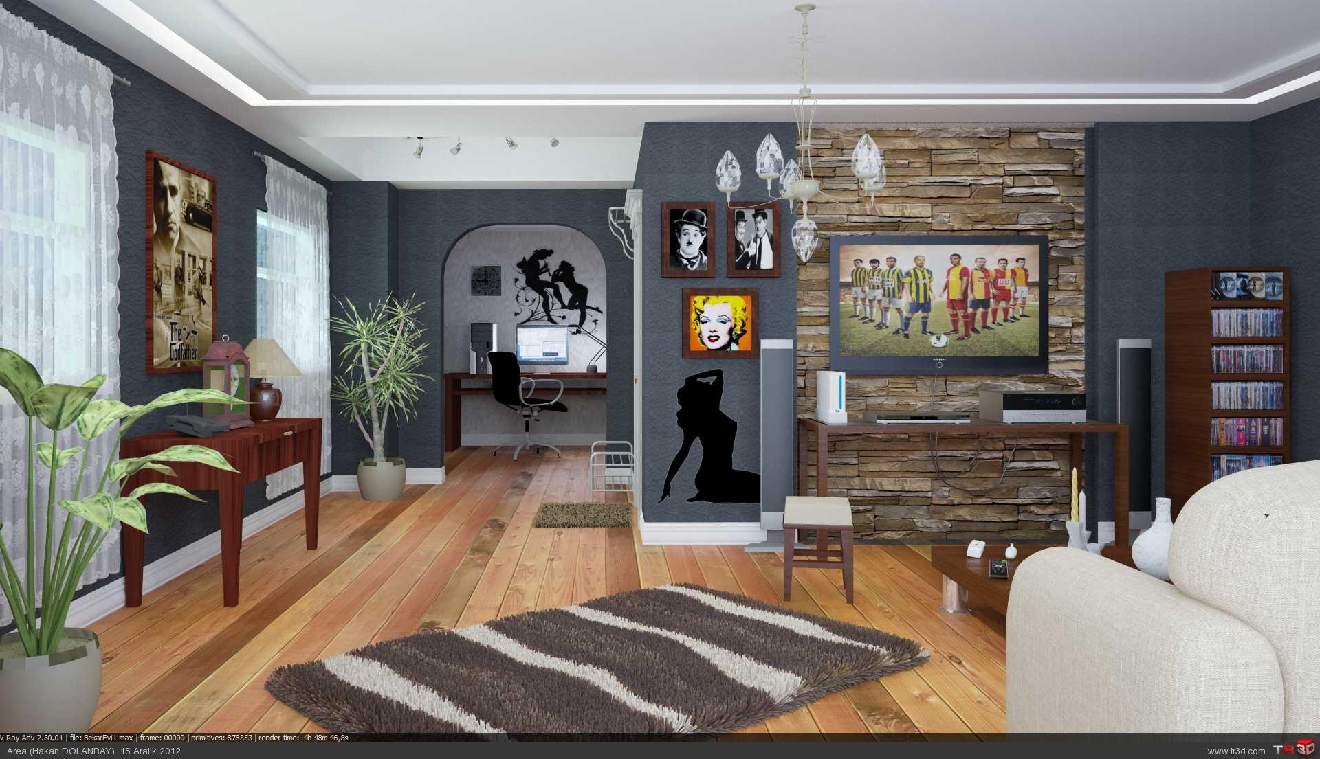 Studio Daire (Bekar Evi)