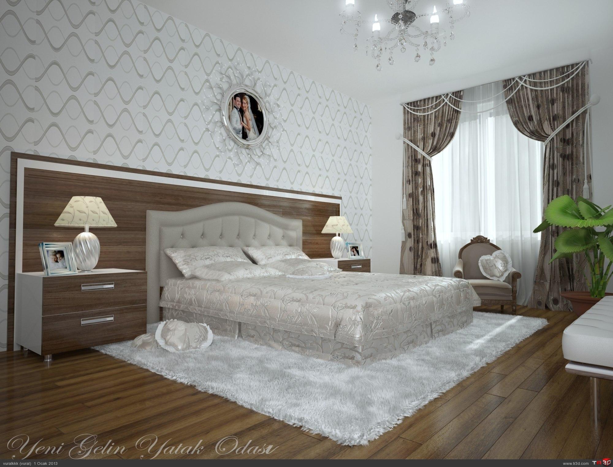 Yeni Gelin Yatak Odası
