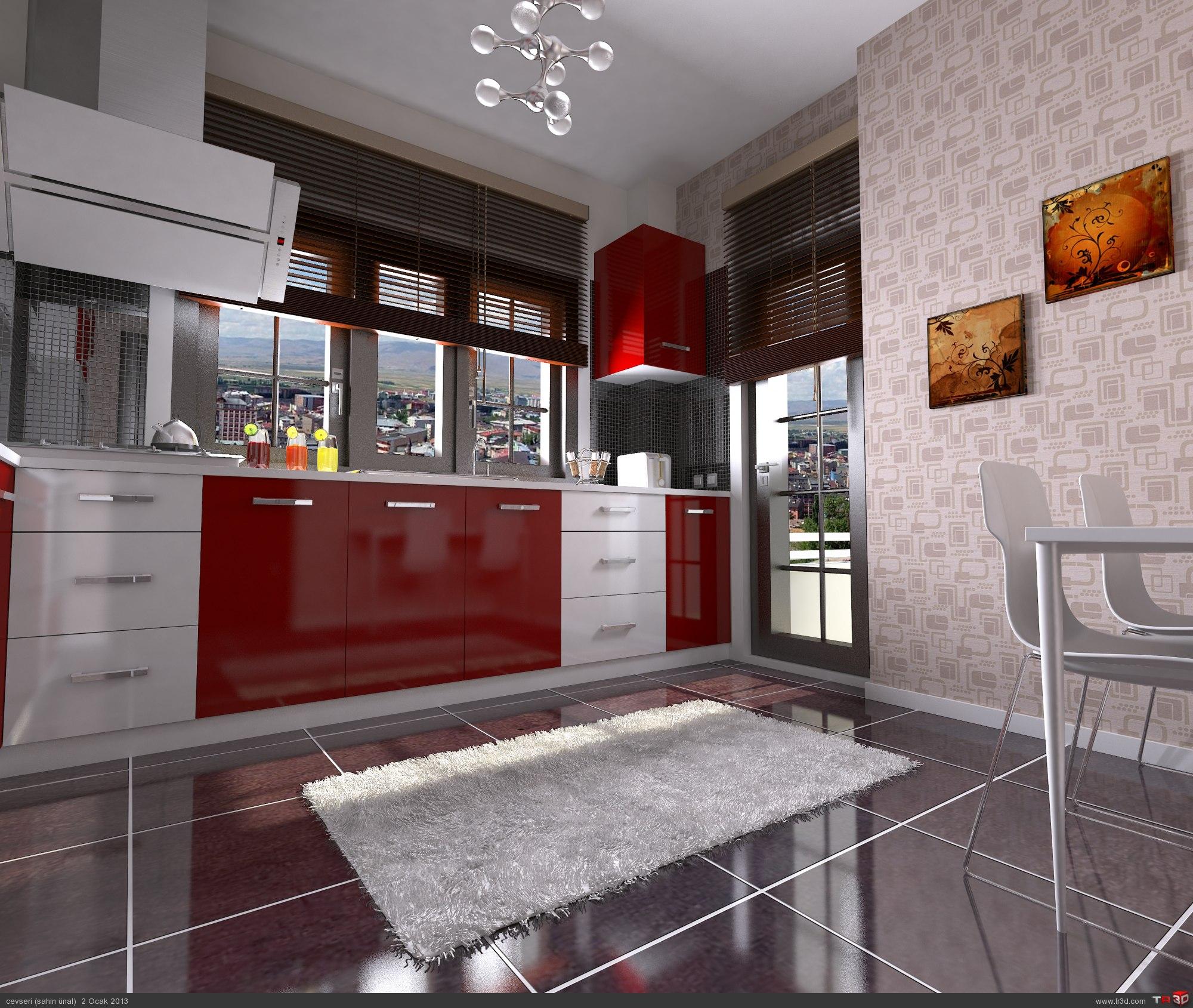 panoramik mutfak  1