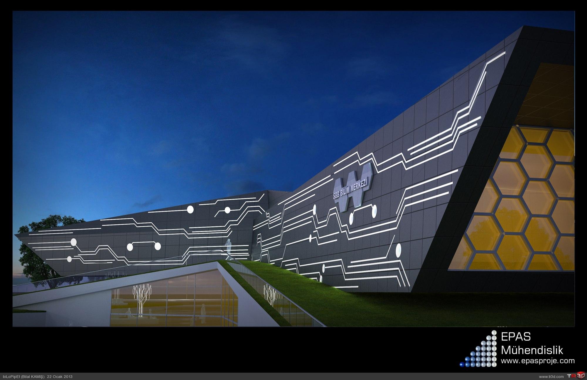 Bilim Merkezi Tasarımı 1