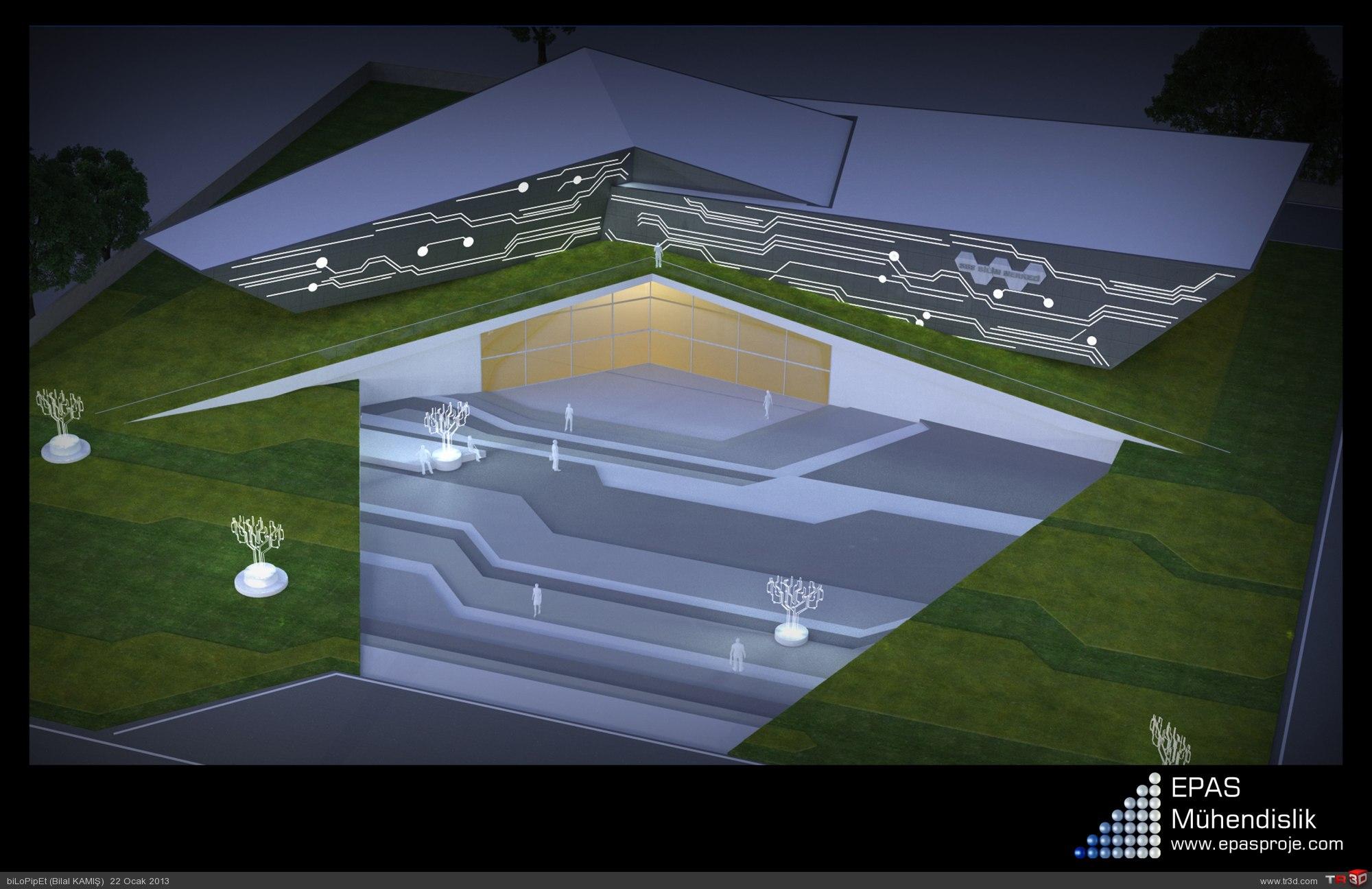 Bilim Merkezi Tasarımı 3