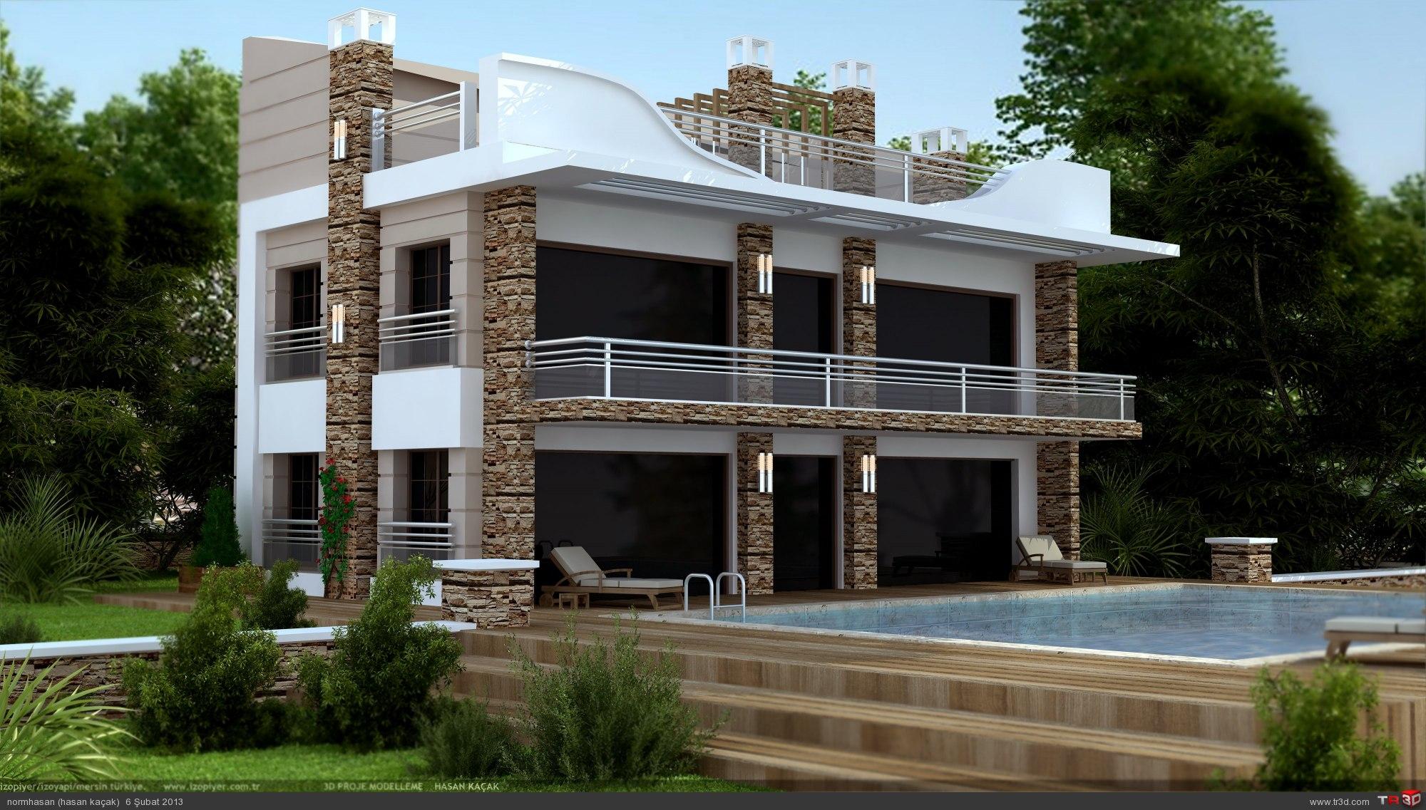Iraq villa with pool