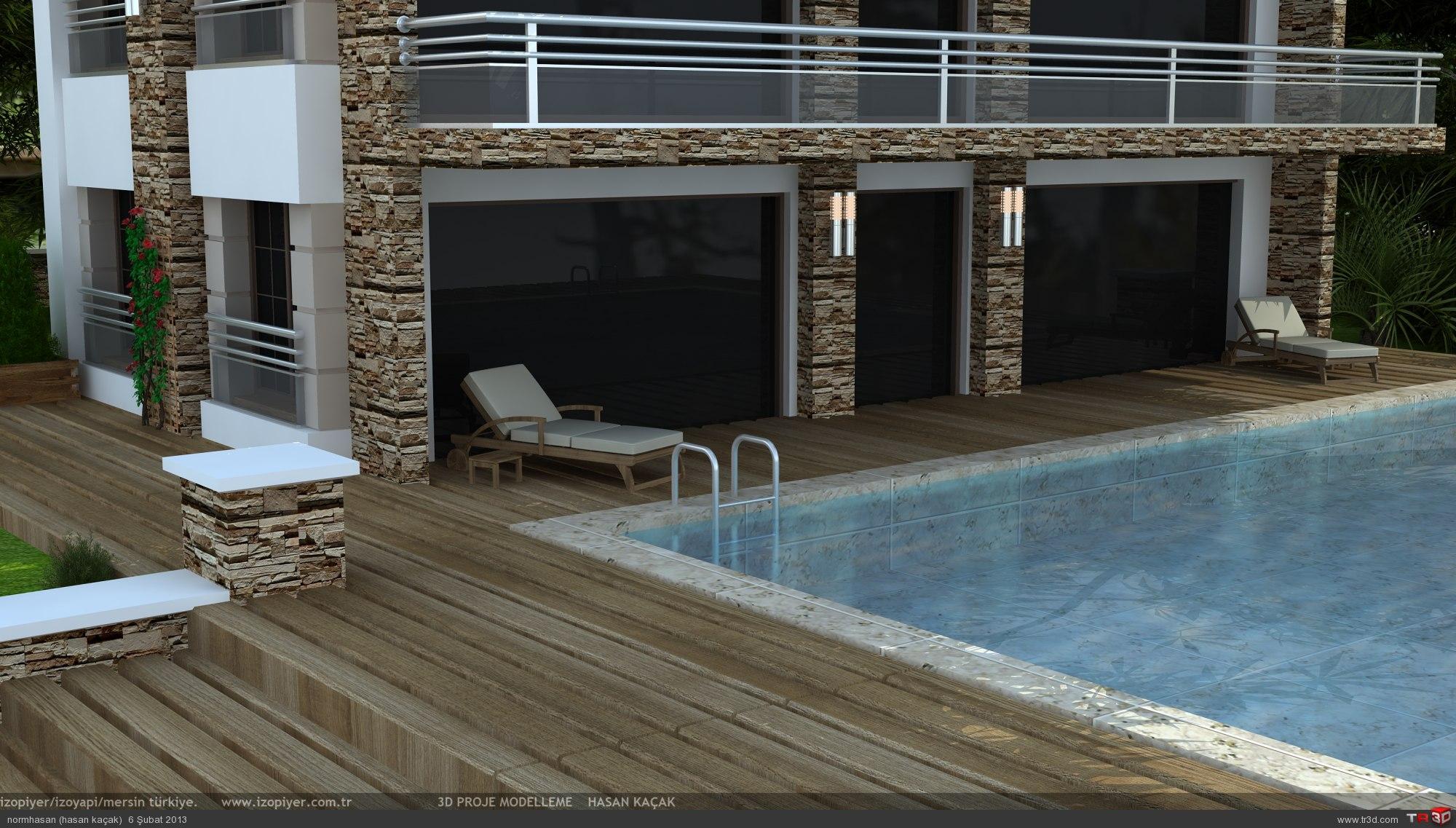 Iraq villa with pool 1