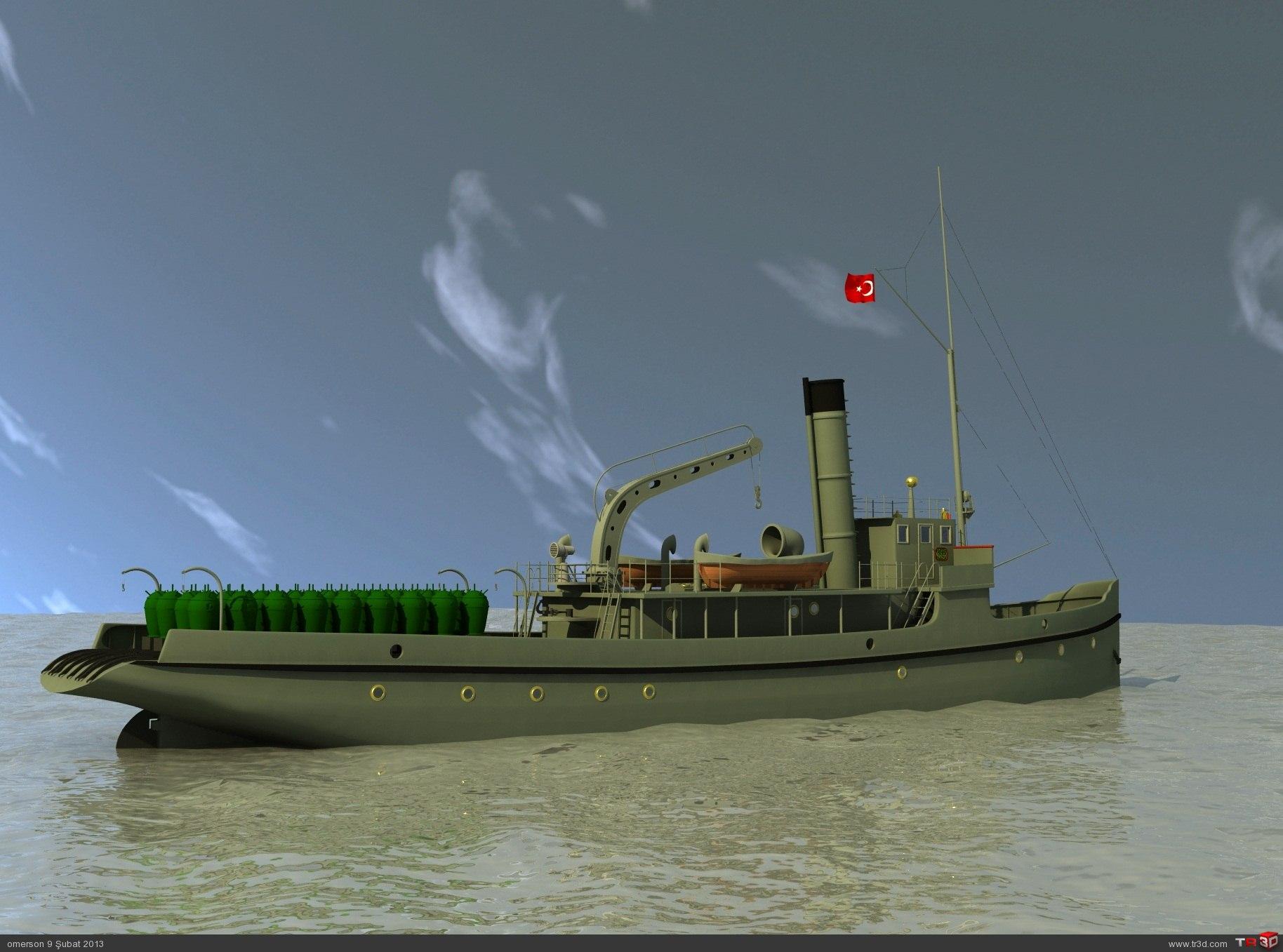 Nusret Mayın Gemisi 1