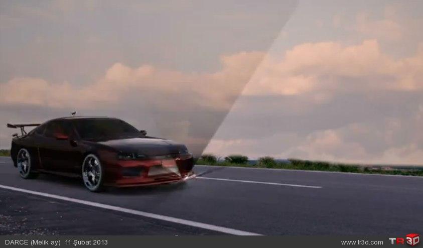 Araba animasyon