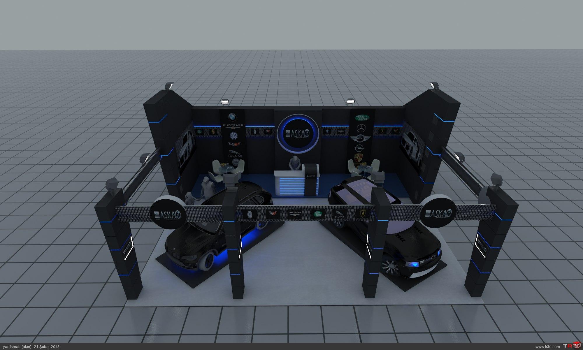 fuar standı tasarımı  2