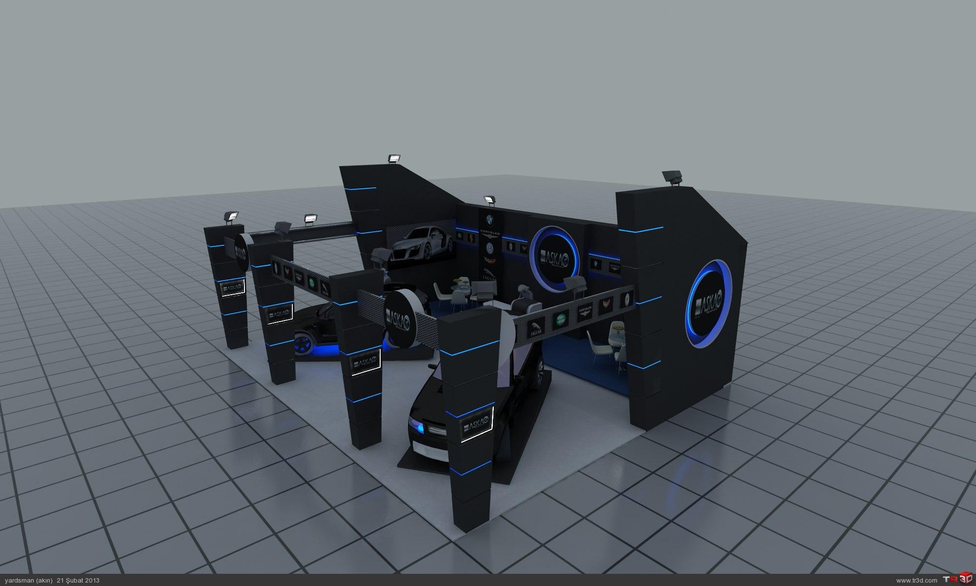 fuar standı tasarımı  3