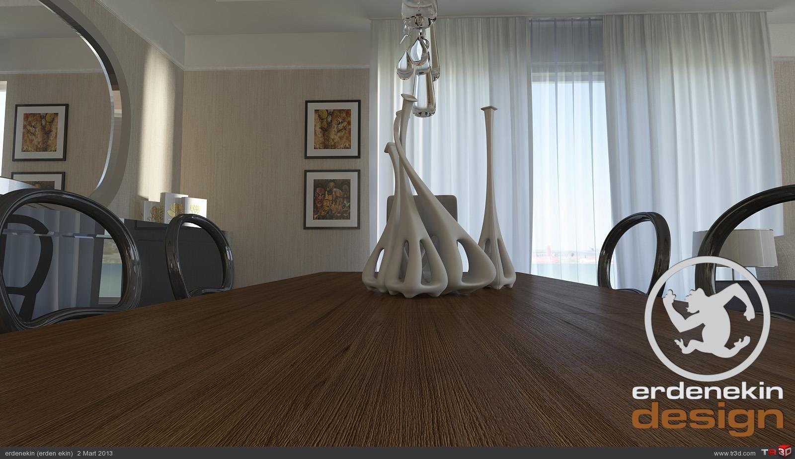 Residence Salon çalışması 3