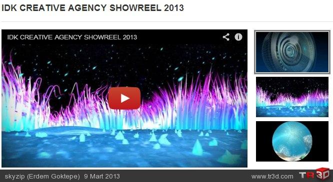 IDK CREATVE 2013 SHOWREEL (yeni)