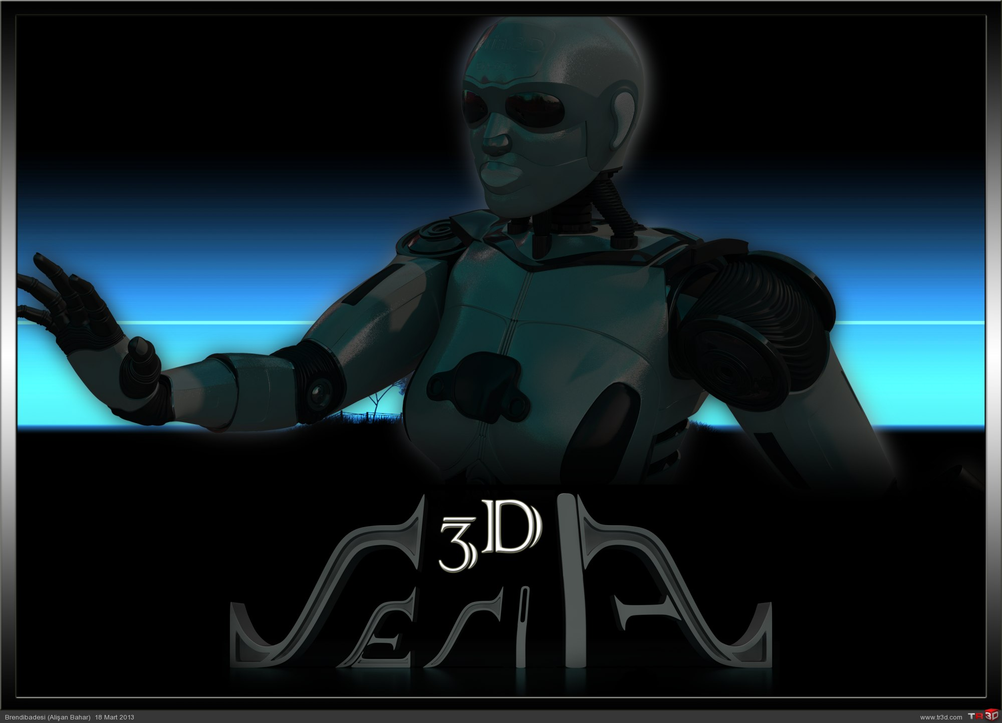 Seria3D - Blender Düşen Düğmeler
