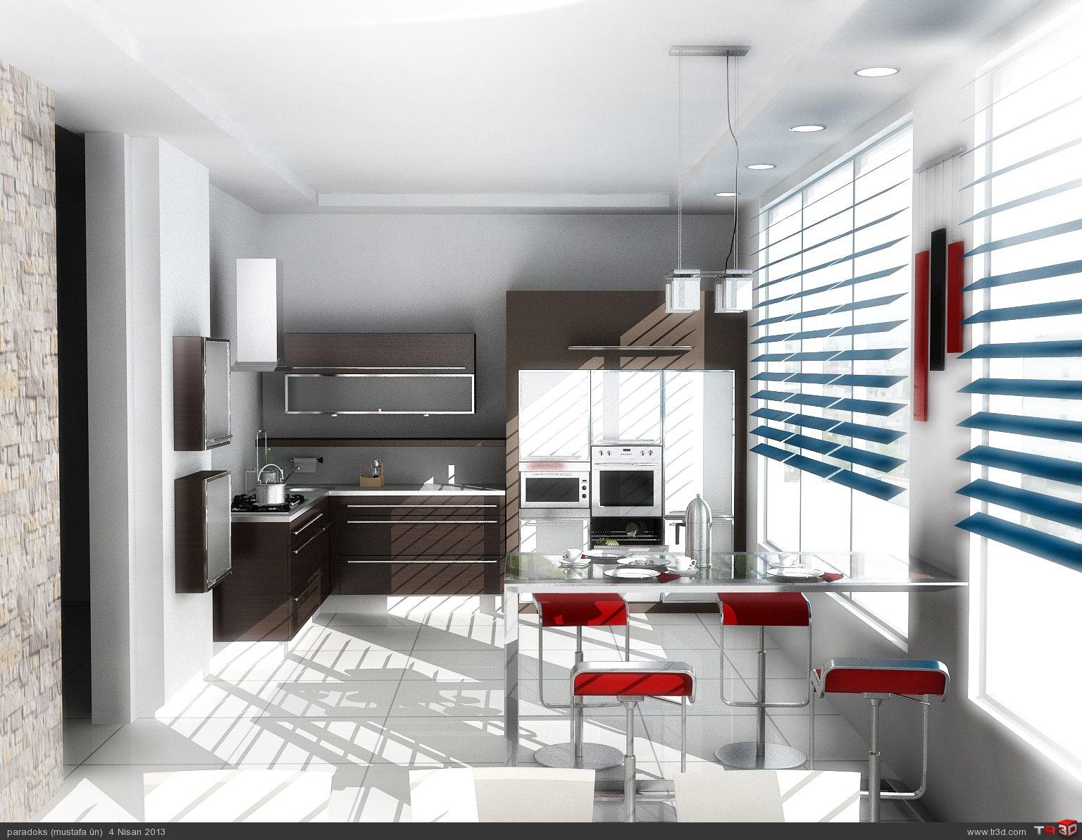 Zeus Mutfak Tasarımı