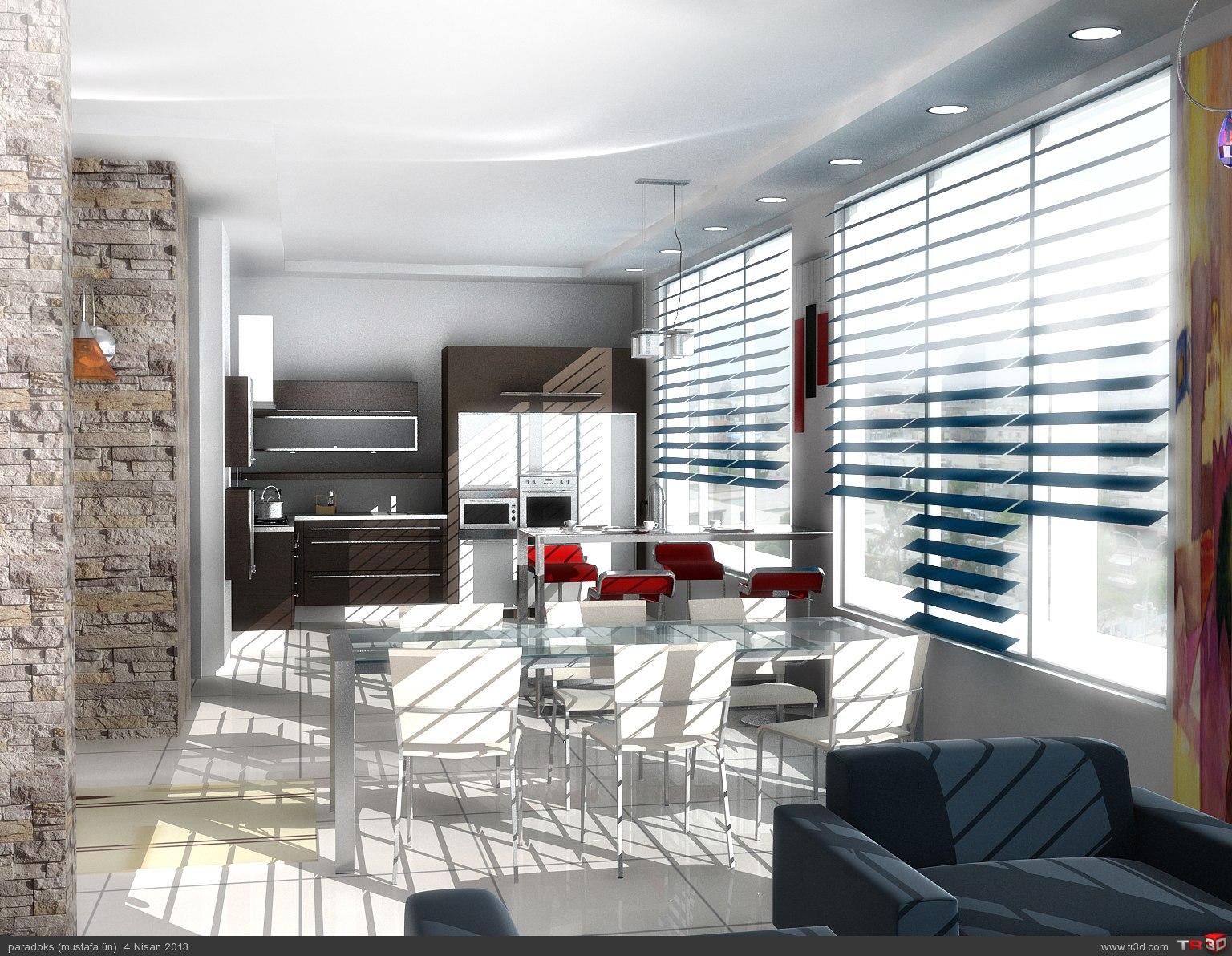 Zeus Mutfak Tasarımı 1