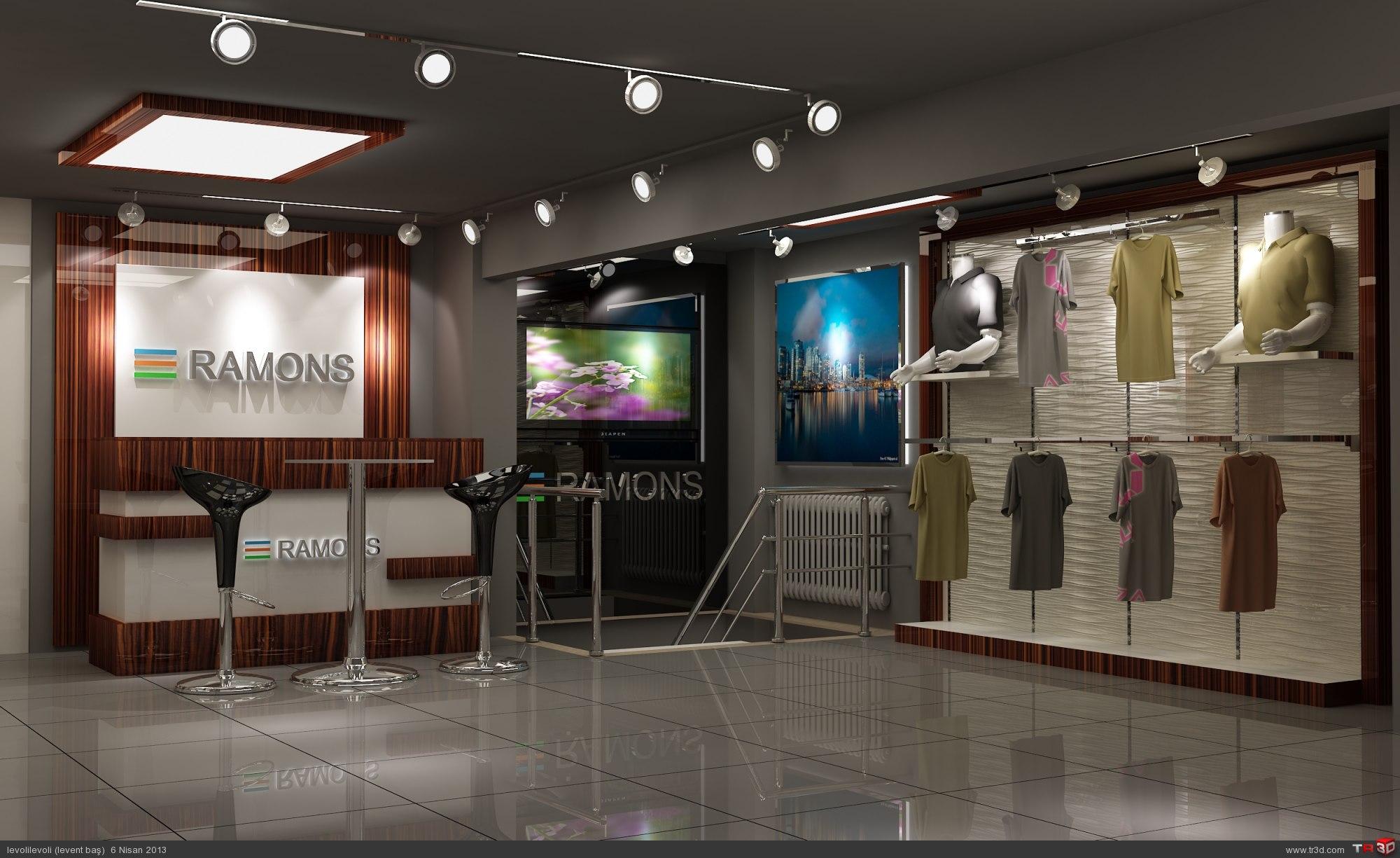 Ramons Mağaza Tasarım
