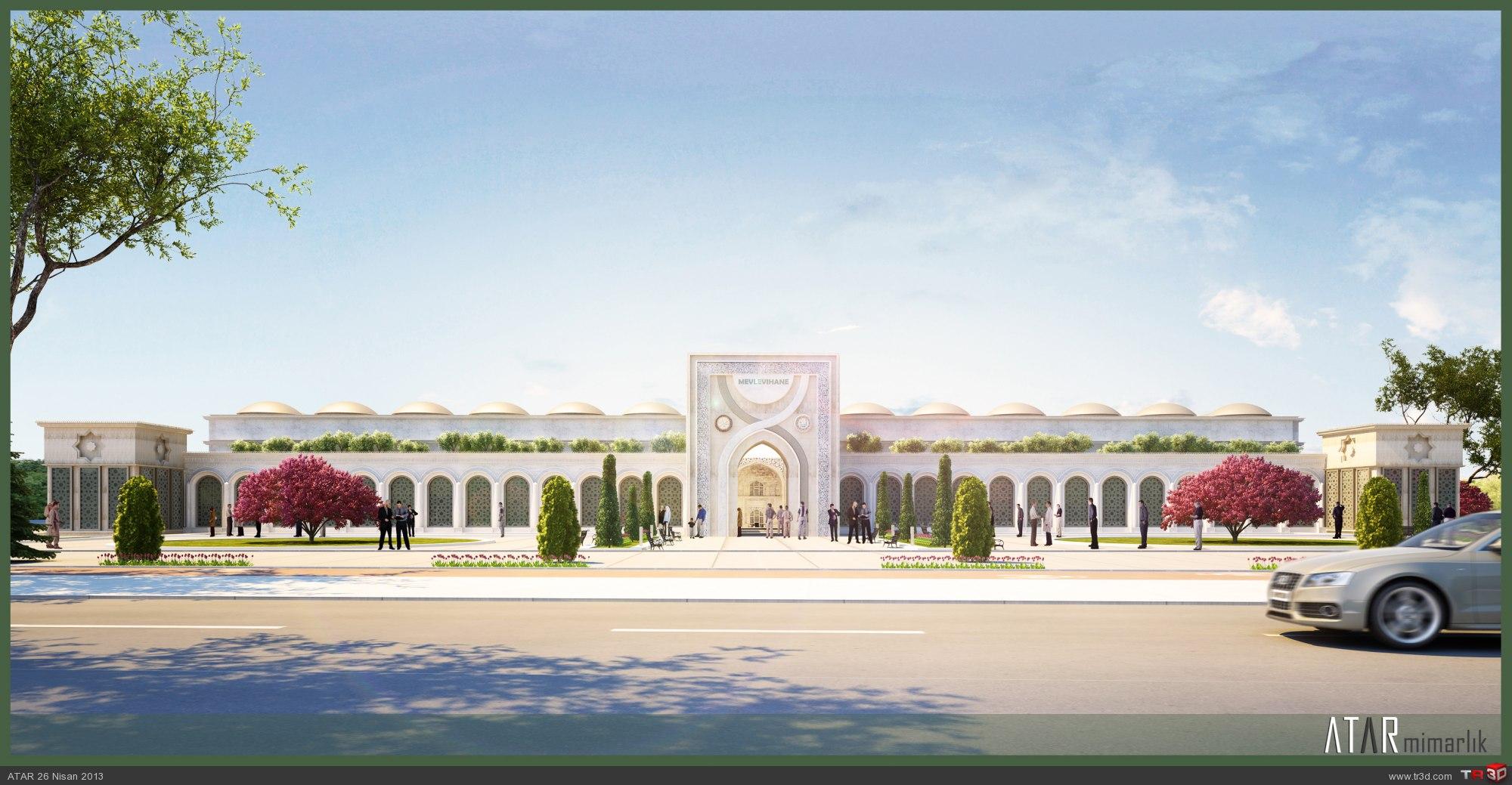 Konya Mevlevihane Müzesi(teklif) : Mimari Projeler