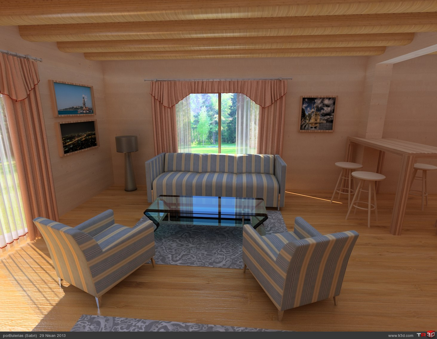 Ahşap ev / Wooden house