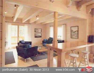 Ahşap ev / Wooden house 2