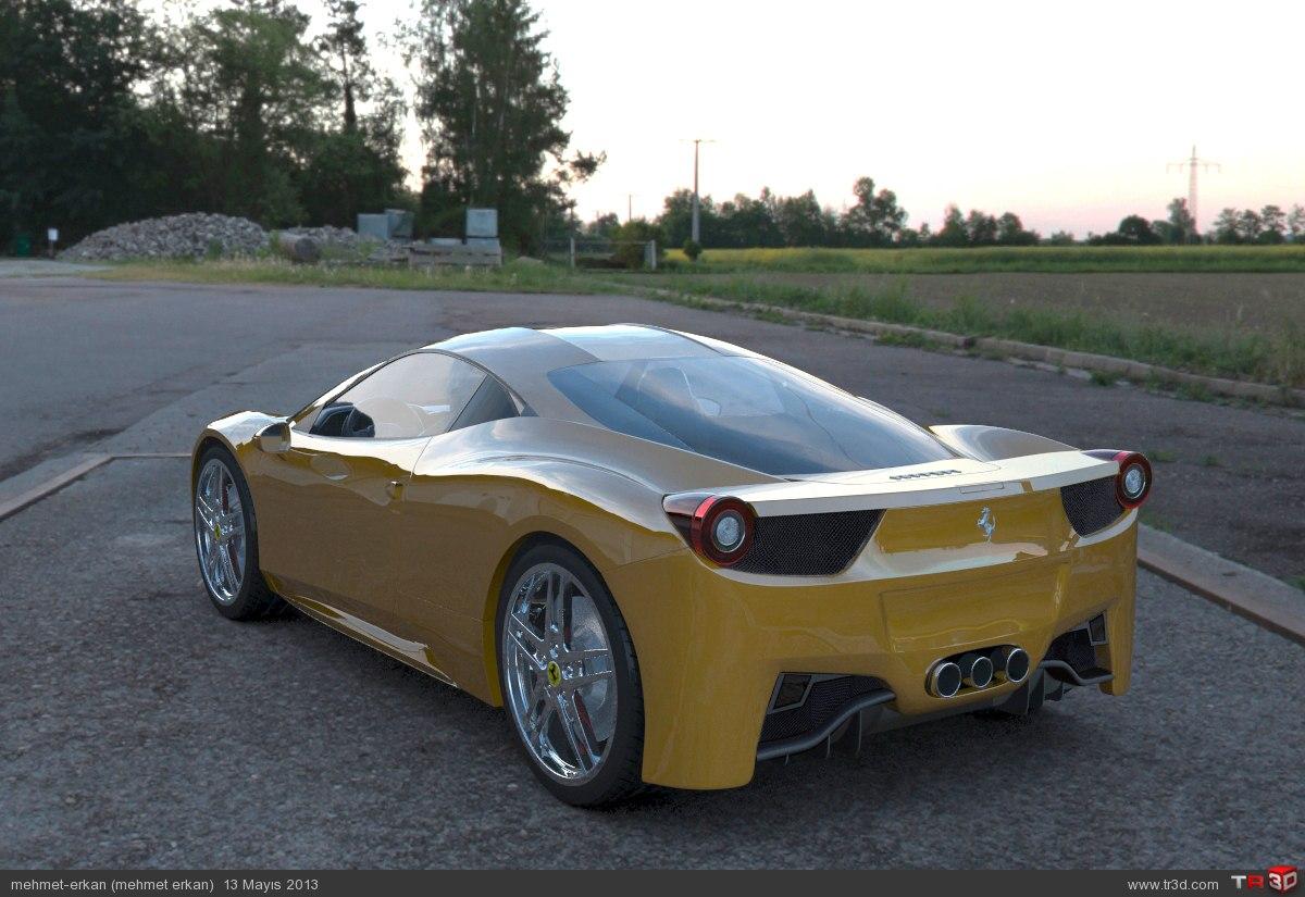 Ferrari f458 İtalya 1