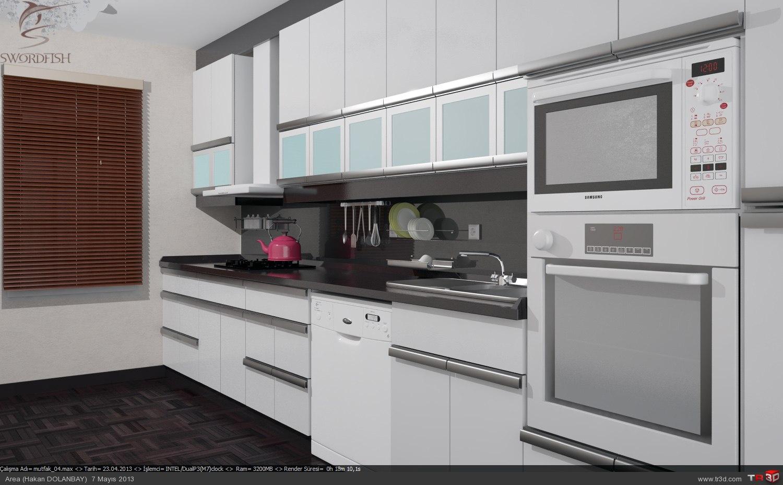 Beyaz Mutfak 1
