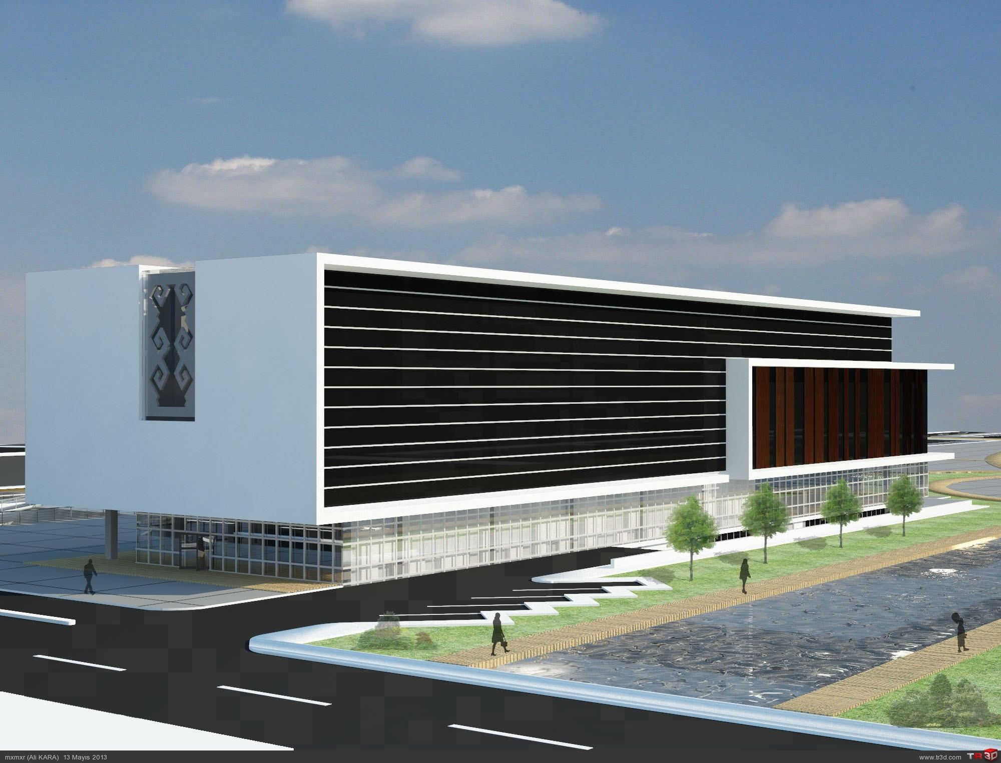 Uşak Belediye Binası Tasarımı 4