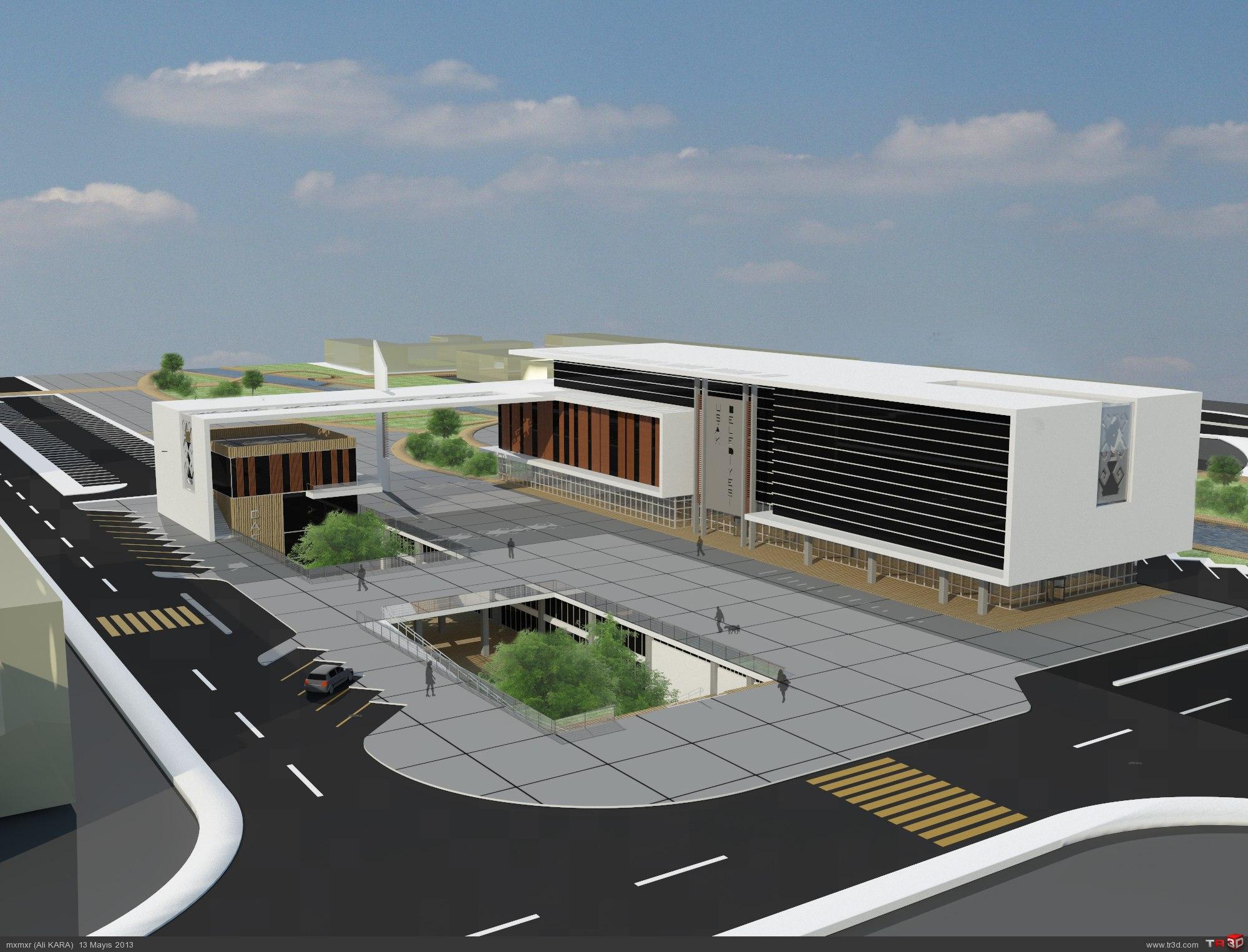 Uşak Belediye Binası Tasarımı 5