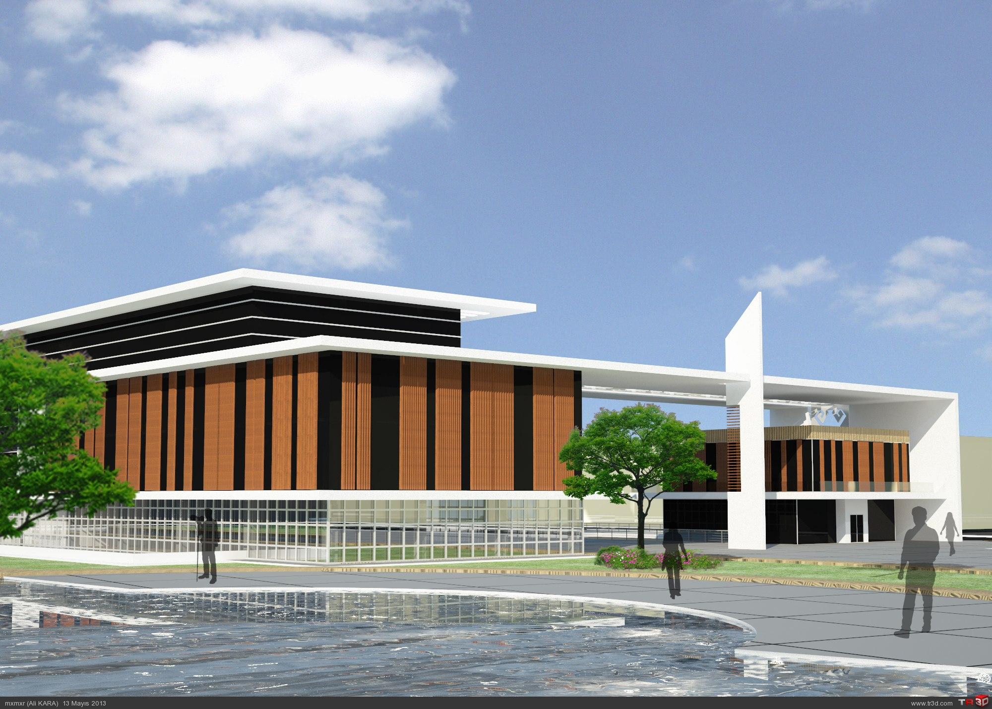 Uşak Belediye Binası Tasarımı 6
