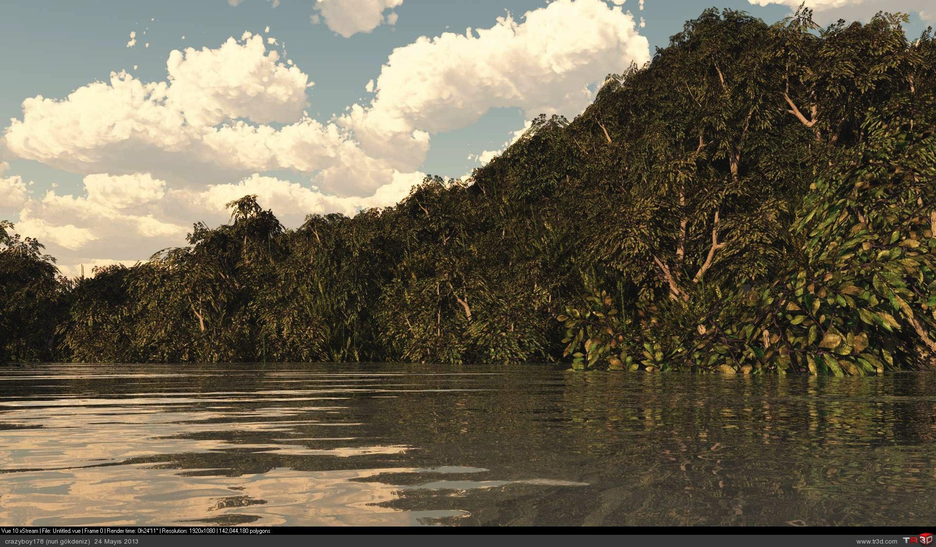 Tropikal manzara
