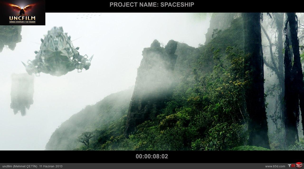 spaceship final öncesi son render