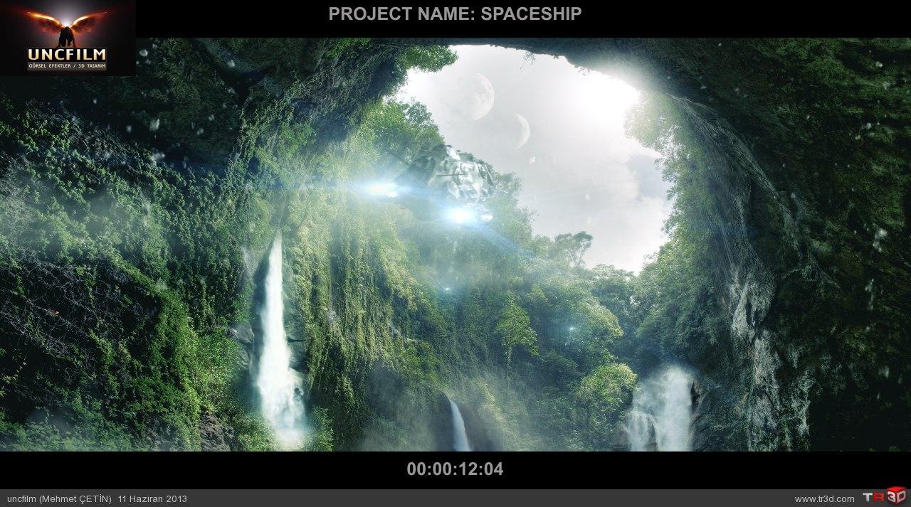 spaceship final öncesi son render 1