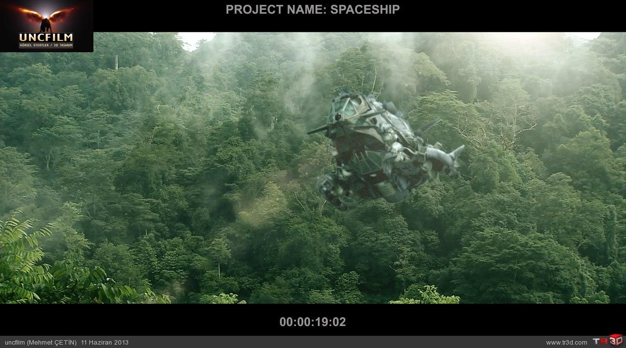 spaceship final öncesi son render 2