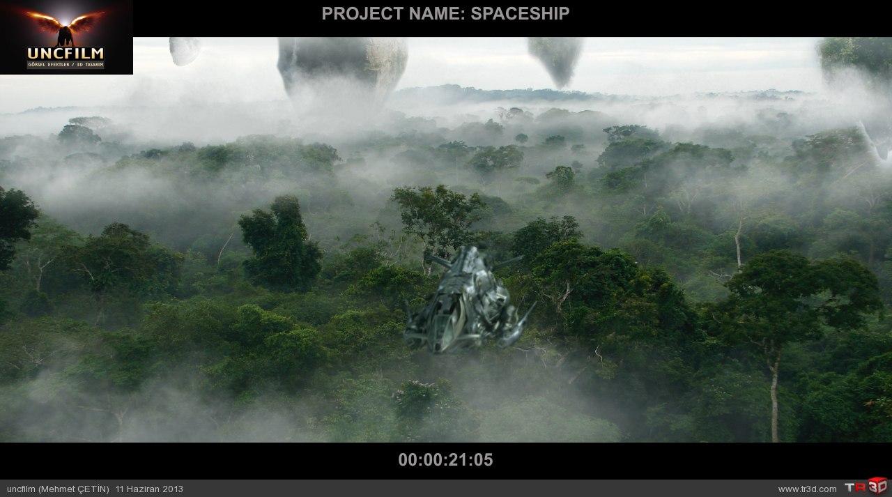 spaceship final öncesi son render 3
