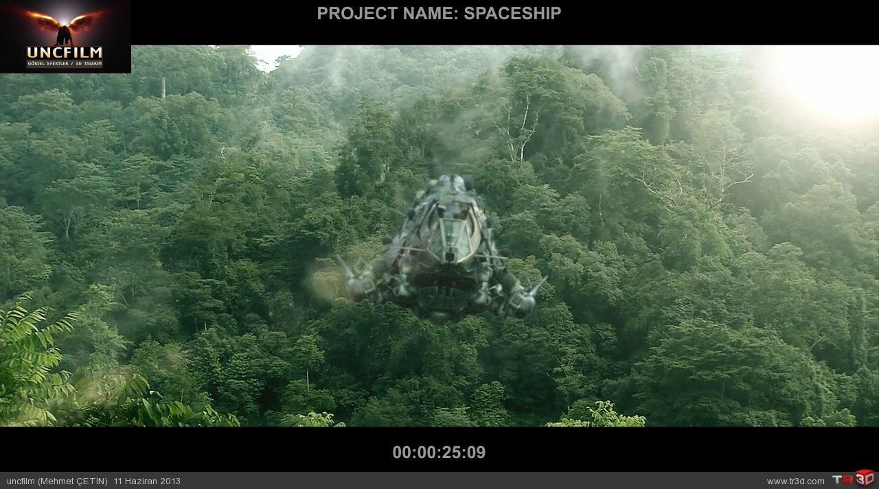 spaceship final öncesi son render 4