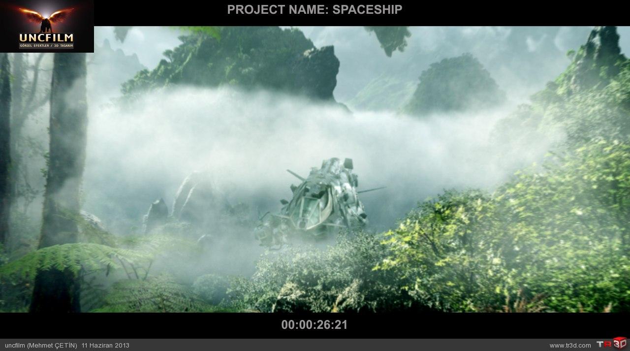 spaceship final öncesi son render 5