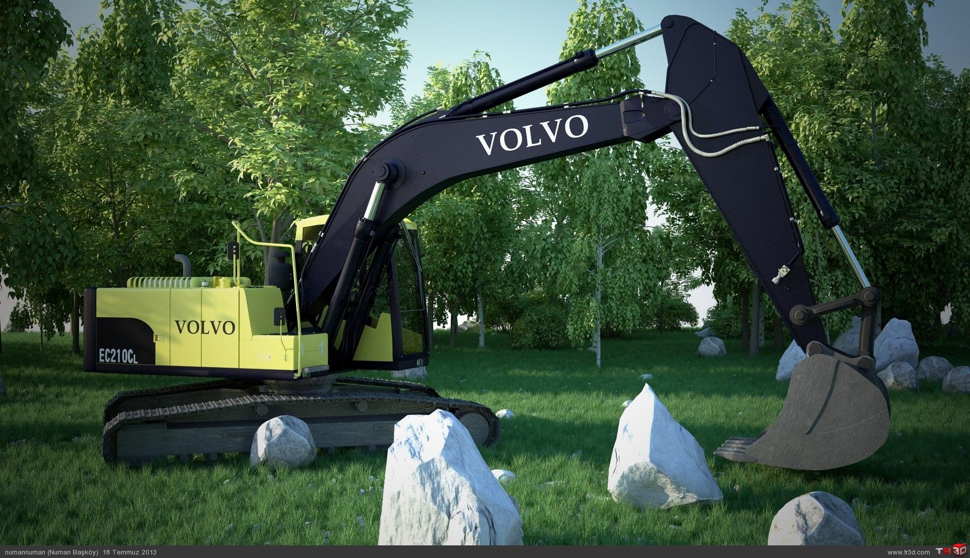 Volvo EC210Cl-2 2